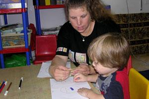 הדרכה לילד בכתיבה